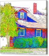 Suburban Home 4 Canvas Print