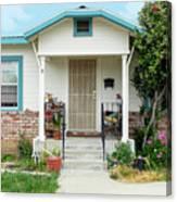 Suburban House Hayward California 20 Canvas Print