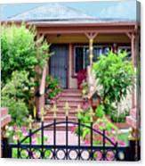 Suburban House Hayward California 38 Canvas Print