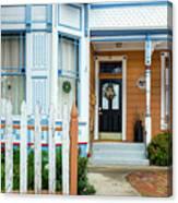 Suburban House Hayward California 9 Canvas Print
