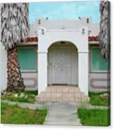 Suburban Surveillance House On Montgomery Avenue Hayward California 6 Canvas Print