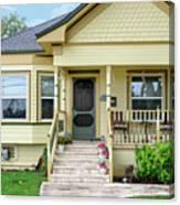 Suburban Victorian Cottage House Hayward California 37 Canvas Print