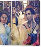 Subway Heat Canvas Print