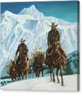 Successful Hunt Canvas Print