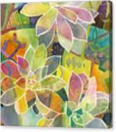 Succulent Mirage 1 Canvas Print