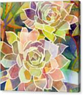 Succulent Mirage 2 Canvas Print