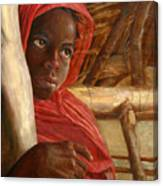 Sudanese Girl Canvas Print