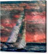Sudden Squall Canvas Print