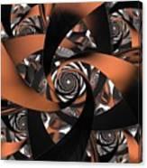 Suede Spiral Canvas Print