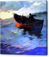 Suffolk Coast  Canvas Print
