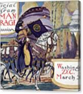Suffragette Parade, 1913 Canvas Print