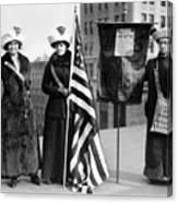 Suffragettes, C1910 Canvas Print
