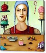 Sugar Addict Canvas Print