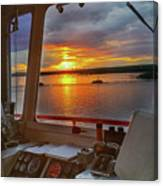 Sugar Islander II Sunrise -0054 Canvas Print