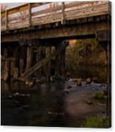 Sugar River Trestle Wisconsin Canvas Print