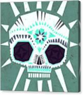 Sugar Skull IIi Canvas Print