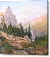 Sugarloaf Peak Eldorado California Canvas Print