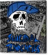 Suicidal Tendencies Canvas Print