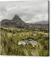 Suilven Mountain Canvas Print