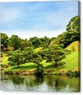 Suizenji Lake Canvas Print