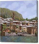 Sul Lago Di Como Canvas Print