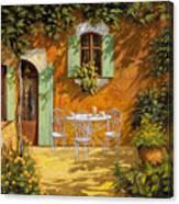 Sul Patio Canvas Print