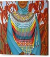 Sulawesi Girl Canvas Print
