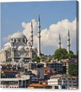 Suleymaniye Camii Canvas Print