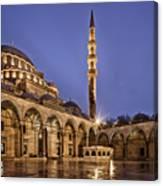 Suleymaniye Mosque Canvas Print