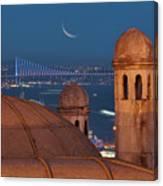 Suleymaniye Canvas Print