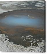 Sulfur Pool Canvas Print