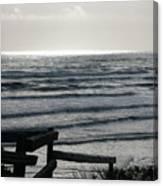 Sullen Seas Canvas Print