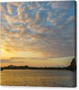 Sullivan Bay Sunrise Canvas Print