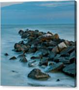 Sullivan's Island Rock Jetty Canvas Print