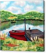 Sumer Reflections Canvas Print