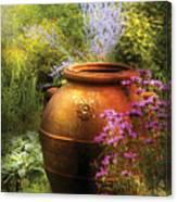 Summer - Landscape - The Urn Canvas Print