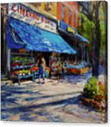 Summer Afternoon, Columbus Avenue Canvas Print