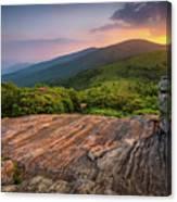 Summer Along The Appalachian Trail Canvas Print