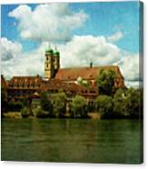 Summer. At The Resort In Bad Saeckingen. Germany. Canvas Print