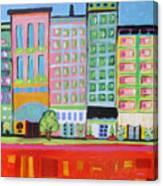Summer Avenue Canvas Print