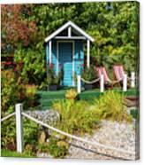 Summer Beach House Canvas Print