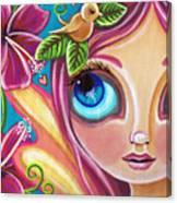 Summer Bliss Fairy Canvas Print
