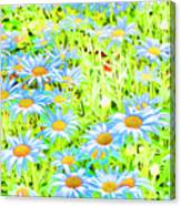 Summer Blues Canvas Print