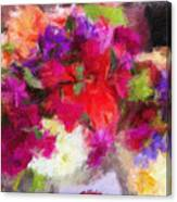 Summer Bouquet Canvas Print