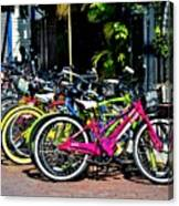 Summer Bright Pedals Canvas Print
