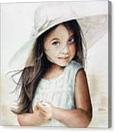 Summer Claire Canvas Print