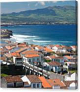 Summer Day In Sao Miguel Canvas Print