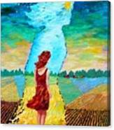 Summer Days On The Prairies Canvas Print