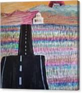 Summer Drive Canvas Print
