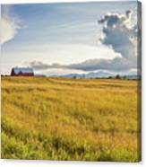 Summer Farmscape Canvas Print